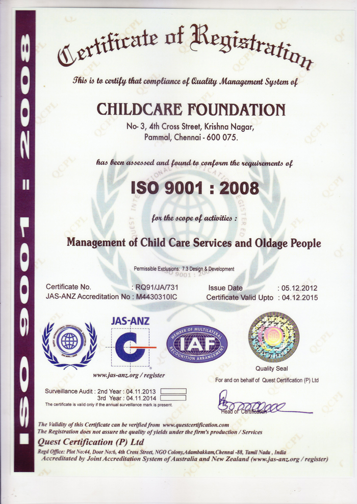 child care foundation